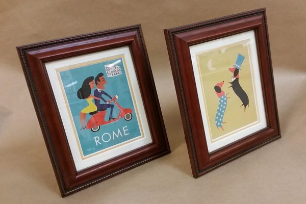 Picture Framing - mounting, block-mounting, corporate images, certificates, gallery